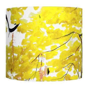 Anna Jacobs - Chinese Tree Lamp Shade - Yellow - Small (H18 x W20 x D20cm)