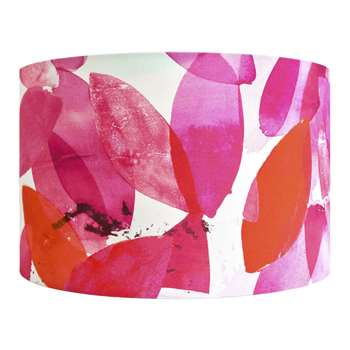 Anna Jacobs - Falling Leaves in Autumn Lamp Shade - Large (H25 x W40 x D40cm)