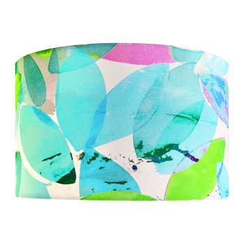 Anna Jacobs - Falling Leaves in Summer Lamp Shade - Large (H25 x W40 x D40cm)