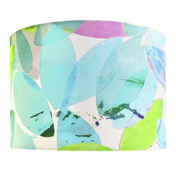 Anna Jacobs - Falling Leaves in Summer Lamp Shade - Medium (H21 x W30 x D30cm)