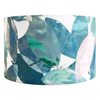 Anna Jacobs - Falling Leaves in Winter Lamp Shade - Large (H25 x W40 x D40cm)