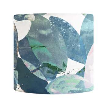 Anna Jacobs - Falling Leaves in Winter Lamp Shade - Small (H18 x W20 x D20cm)