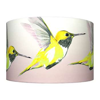 Anna Jacobs - Lemon Hummer Lamp Shade - Large (H25 x W40 x D40cm)