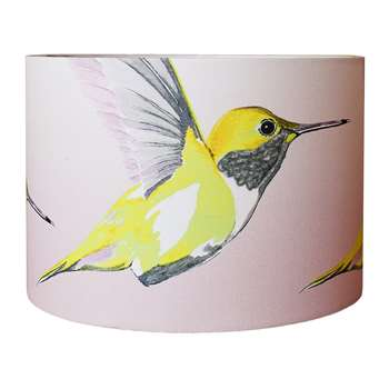Anna Jacobs - Lemon Hummer Lamp Shade - Medium (H21 x W30 x D30cm)