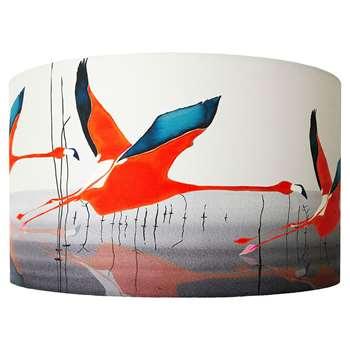 Anna Jacobs - Orange Breaking Dawn Lamp Shade - Large (H25 x W40cm)