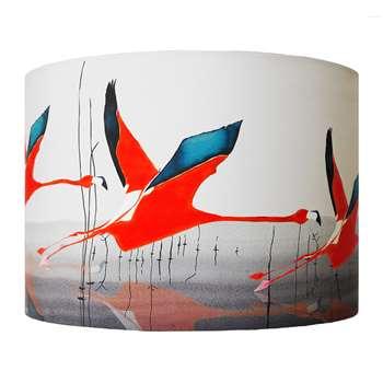 Anna Jacobs - Orange Breaking Dawn Lamp Shade - Medium (H21 x W30cm)