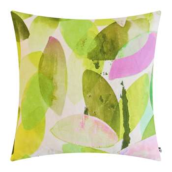 Anna Jacobs - Seasons Square Cushion - Falling Leaves in Spring (H45 x W45cm)