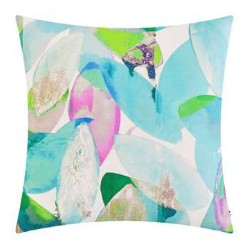 Anna Jacobs - Seasons Square Cushion - Falling Leaves in Summer (H45 x W45cm)