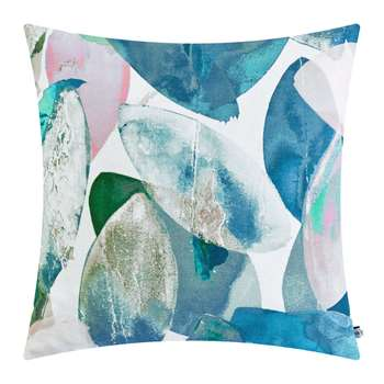 Anna Jacobs - Seasons Square Cushion - Falling Leaves in Winter (H45 x W45cm)