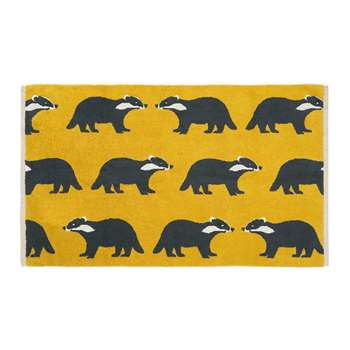 Anorak - Kissing Badgers Bath Mat (H50 x W80cm)