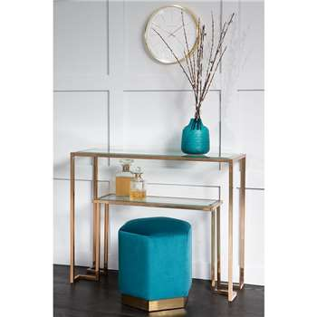 Anta Gold Console Table (H80 x W100 x D35cm)