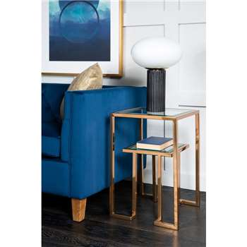 Anta Gold Side Table (H60 x W39 x D39cm)