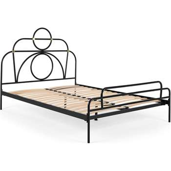 Anthea Metal King Size Bed (H135 x W157 x D208cm)