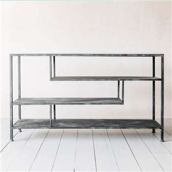 Antique Black Console (H80.5 x W140 x D35cm)