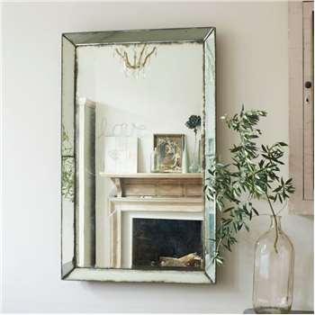 Antiqued Venetian Mirror (H122 x W76cm)