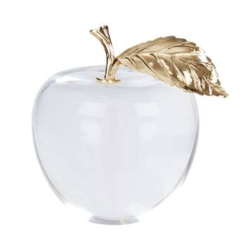 Apple Paper Weight (H9.5 x W8 x D8cm)