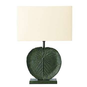 Aqua Lillium Lamp - Leaf Green (27 x 23cm)