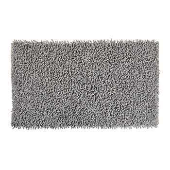 Aquanova - Elvira Bath Mat - 60x100cm - Grey (H60 x W100cm)
