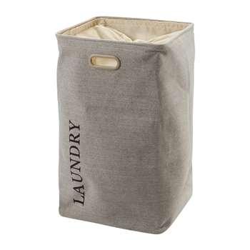 Aquanova - Evora Laundry Bin - Flax (70 x 40cm)
