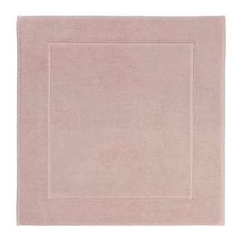 Aquanova - London Bath Mat - Dusty Pink (H60 x W60cm)