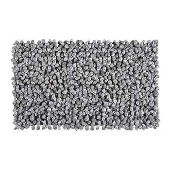 Aquanova - Rocca Bath Mat - Silver Grey - 60x100cm