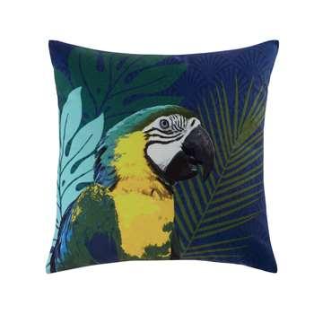 ARA parrot cushion (45 x 45cm)