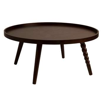 Dutchbone Arabica Coffee Table, Extra Large (H35 x W78 x D78cm)