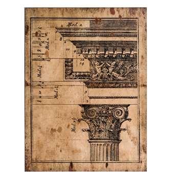 Architectural Wall Print IV (60 x 80cm)