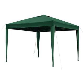 Argos Home 3m x 3m Pop up Garden Gazebo - Green (H250 x W300 x D300cm)