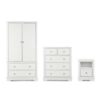 Argos Home Ashbourne 3 Piece Soft White Package