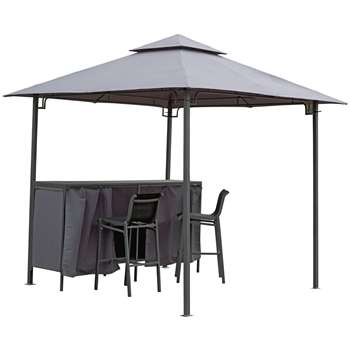 Argos Home Bar Gazebo, Table and Chairs Set