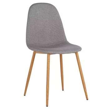 Argos Home Beni Fabric Office Chair - Grey (H88 x W44 x D54.5cm)