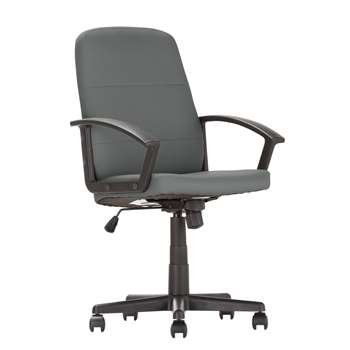 Argos Home Brixham Managers Chair - Grey (H102 x W45 x D45cm)