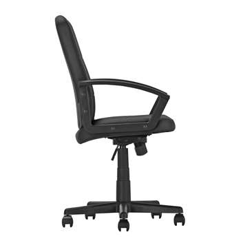 Argos Home Brixham Managers Office Chair - Black (H102 x W45 x D45cm)