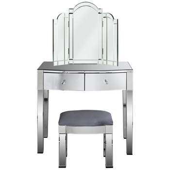 Argos Home Canzano 2 Drawer Dressing Table Package (H145.5 x W82 x D49cm)
