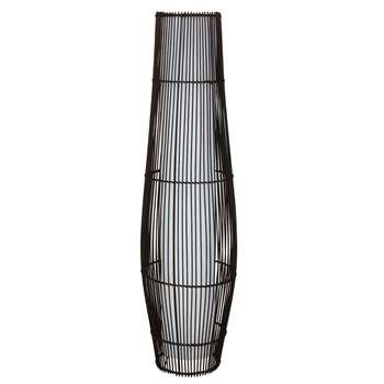 Argos Home Chocolate Rattan Floor Lamp (H112 x W30 x D30cm)