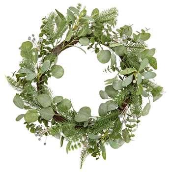 Argos Home Christmas Wreath - Winter's Mist (Diameter 51cm)