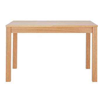 Argos Home Clifton Oak Veneer 2 Seater Dining Table (H73.8 x W120 x D80cm)