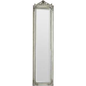 Argos Home Coronet Full Length Cheval Mirror - Silver (H180 x W44 x D6cm)