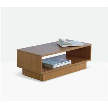 Argos Home - Cubes 1 Shelf - Coffee Table - Oak Effect (H30 x W80 x D40cm)