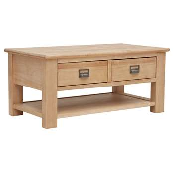 Argos Home Drury Lane Coffee Table - Light Wood (H45 x W100 x D53.2cm)