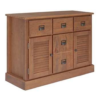 Argos Home Drury Lane Large Sideboard - Pine (H80 x W115 x D40cm)