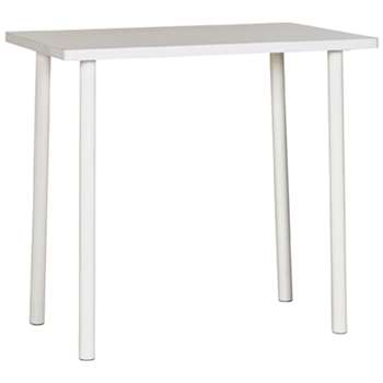 Argos Home Essentials Office Desk - White (H73 x W80 x D50cm)