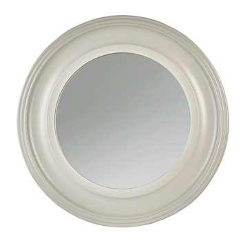 Argos Home Everyday Luxury Round Wooden Framed Wall Mirror (H55 x W55 x D3cm)