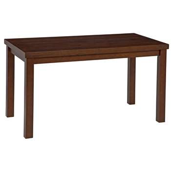 Argos Home Gloucester Solid Wood Coffee Table -Walnut Effect (H46.5 x W85 x D45cm)