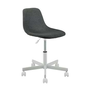 Argos Home Grayson Shell Chair - Grey (H37 x W42 x D38cm)