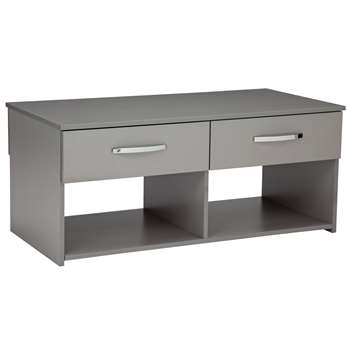 Argos Home Hayward Coffee Table - Grey Gloss (H44 x W100 x D49cm)