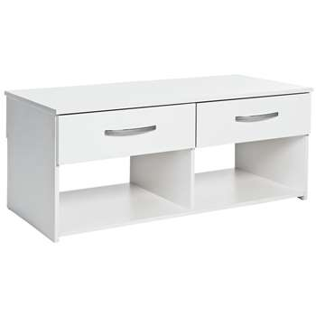 Argos Home Hayward Coffee Table - White (H44 x W100 x D49cm)