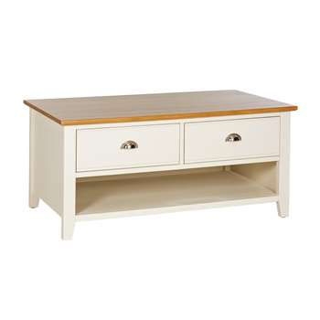 Argos Home Highbury Coffee Table - Two Tone (H50 x W108 x D60cm)