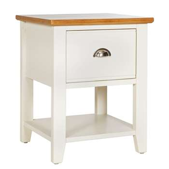 Argos Home Highbury Lamp table - Two Tone (H55 x W45 x D40cm)